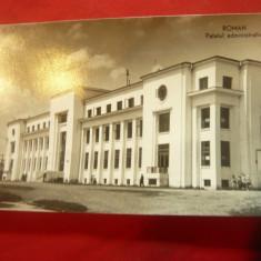 Ilustrata Roman - Palatul Administrativ circulat 1959 , francat cu 2x20bani