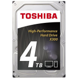 HDD desktop Toshiba X300 (3.5'' 4TB 7200RPM 128MB NCQ AF SATAIII) bulk