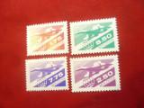 Serie -Posta Aeriana Moldova 1992 , 4 valori