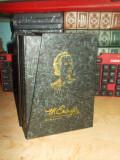 MIHAI EMINESCU - POEZII ( CASETA CU 6 VOLUME ) , EDITIE AL. PIRU , CRAIOVA ,1993
