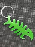 Breloc chei peste SPALDING metalic verde desfacator accesorii chei schelet cadou