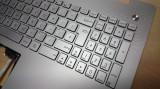 Carcasa superioara cu tastatura iluminata laptop Asus N550 argintiu layout UK