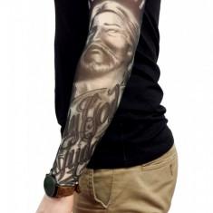 MNC66-100 Maneca tatuata cu motive religioase