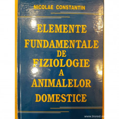 Elemente fundamentale de fiziologie a animalelor domestice