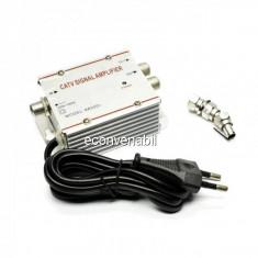 Amplificator Semnal TV Spliter 2 Iesiri 8830D2T 20dB
