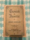 Cronica de familie Petru Dumitriu