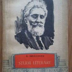 Studii Literare - G. Ibraileanu ,281595