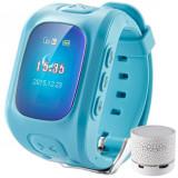 Cumpara ieftin Ceas Smartwatch GPS Copii iUni U6, Localizare Wifi, Apel SOS, Pedometru, Monitorizare somn, Blue + Boxa Cadou