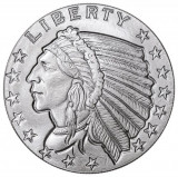 Moneda argint 999 lingou, Indian Eagle