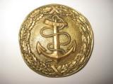5883-I-Pafta Catarama militara marina veche bronz, stare buna-5.5cm.