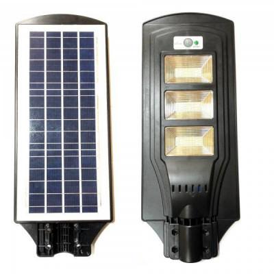 Proiector LED SMD 60W cu Panou Solar si Senzori IP65 CL160 foto