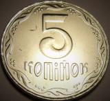 Moneda 5 Copeici - Ucraina 2009 *cod 1614 UNC