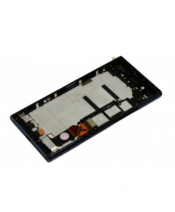 Ecran lcd display sony xperia xz premium cu rama, g8141 argintiu