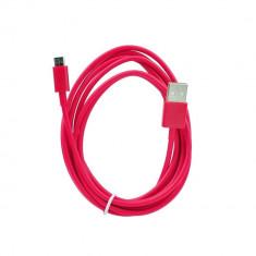 Cablu USB - Micro USB, 2m, Rosu
