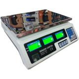 Cantar electronic digital Sonashi 40 Kg, cu acumulator si afisaj dublu