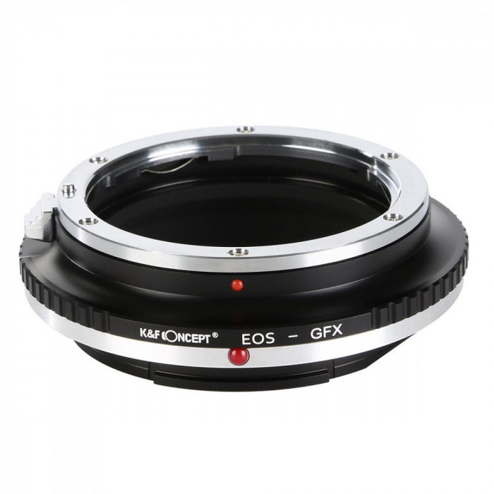 K&F Concept EOS-GFX adaptor montura de la Canon EOS EF la Fuji GFX KF06.350