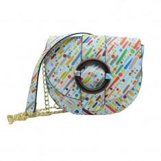 Geanta dama casual tip postas NN 1077D, Multicolor