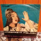 """-Y- Margareta Pîslaru – MUZICA POPULARA ROMANESCA VINIL 7 """" RAR"""