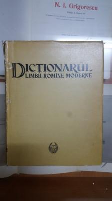 Dicționarul Limbii Romîne Moderne, București 1958 foto