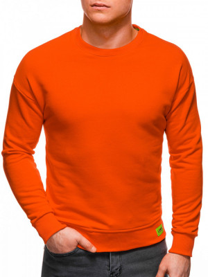 Bluza barbati B1228 - portocaliu foto