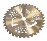 Disc motocoasa cu vidia 255 x 25.4mm (cu aripioare), Blade