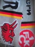 HOPCT  FULAR SPORTIV FOTBAL F C K KAISERSLAUTERN -FANS ON TOUR  GERMANIA