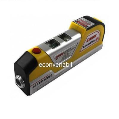 Nivela Laser cu Ruleta 2.5m si Boloboc Easy Fix Level Pro 3 LV03C foto