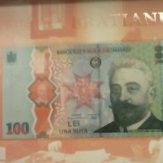 Romania,100 lei 2019 Bratianu UNC