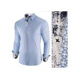Camasa pentru barbati albastru deschis slim fit casual Epic