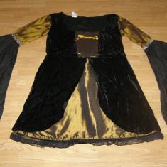 costum carnaval serbare cadana rochie medievala pentru adulti marime L-XL