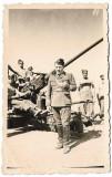 D1003 Ofiter roman decorat tun antiaerian 1942 Scoala de Instructori