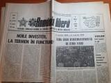 romania libera 6 martie 1984-articol si foto orasele dej,braila si constanta