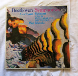 box set 8 vinil viniluri beethoven symphonies coriolan egmont 1979