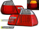 Stopuri LED Bmw E46 05.98-08.01 Rosu Alb LED