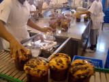 Italia fabrica de panetone