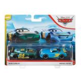 Cars3 Set 2 Masinute Metalice Herb Curbler Si Michael Rotor, Mattel