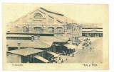 1915 - TURNU-SEVERIN, Market, Romania - old postcard - used - 1918, Circulata, Printata