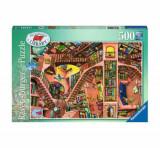 Cumpara ieftin Puzzle Ravensburger Libraria Ridicola, 500 piese