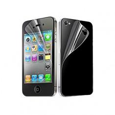 Folie iPhone 4s Protectie Fata + Spate