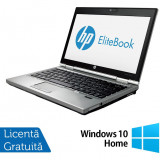 Laptop Refurbished Hp EliteBook 2570p, Intel Core i5-3210M 2.50GHz, 4GB DDR3, 320 GB SATA, DVD-RW, 12.5 Inch + Windows 10 Home