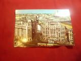 Ilustrata - Bucuresti - Vedere spre Calea Victoriei , anii '70