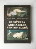 Cresterea animalelor pentru blana/Valeriu Sarbu si Nicolae Pastarnac/1980