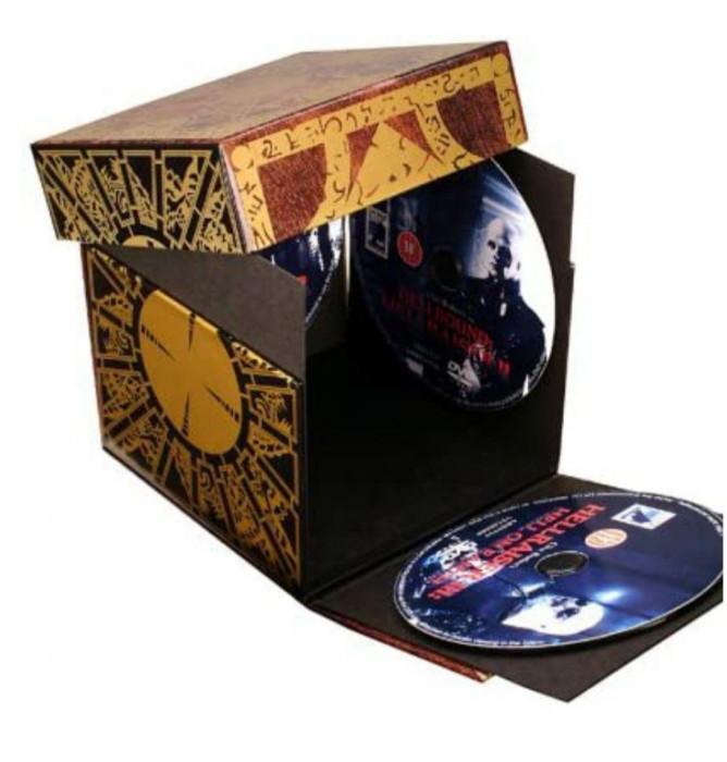 Filme Hellraiser Limited Edition Puzzle Box Set [DVD]