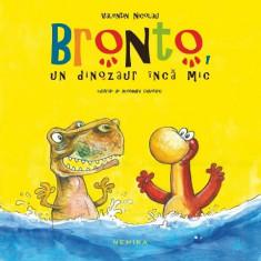 """Bronto, un dinozaur inca mic"" - Valentin Nicolau"