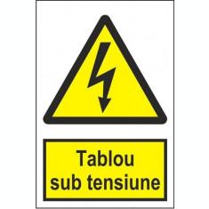 Indicator Tablou sub tensiune - Semn Protectia Muncii
