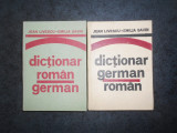 JEAN LIVESCU, EMILIA SAVIN - DICTIONAR ROMAN-GERMAN / GERMAN-ROMAN 2 volume