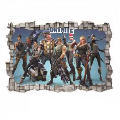 Sticker 3D perete, 60x90cm, Fortnite1