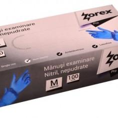 Manusi nitril albastre marime L 100/cutie