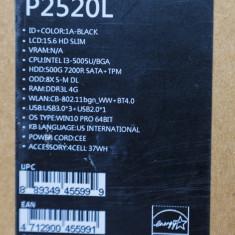 Laptop Asus Pro P2520L CPU:i3-5005U