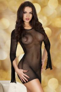 Rochie mini Chilirose 3609 SM Black Ladies Minidress